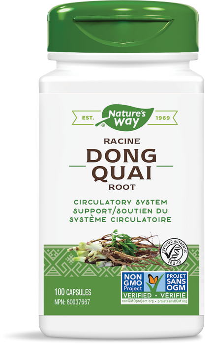 Nature's Way Dong Quai Root 565mg 100 Capsules