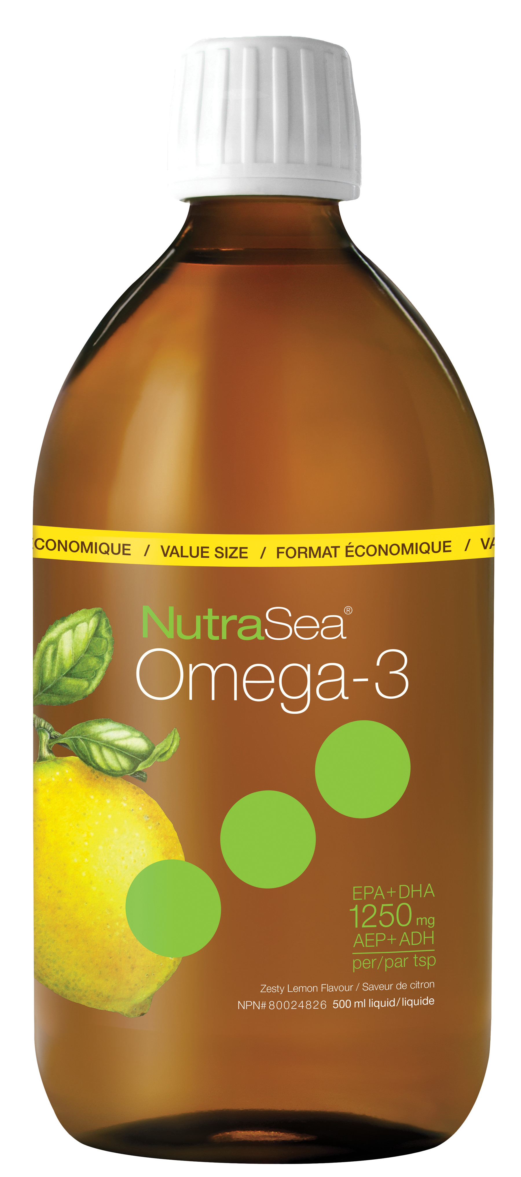 Nutrasea Original Zesty Lemon 500ml