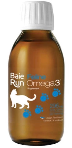 Baie Run Feline Omega 3 Ocean Fish 140ml