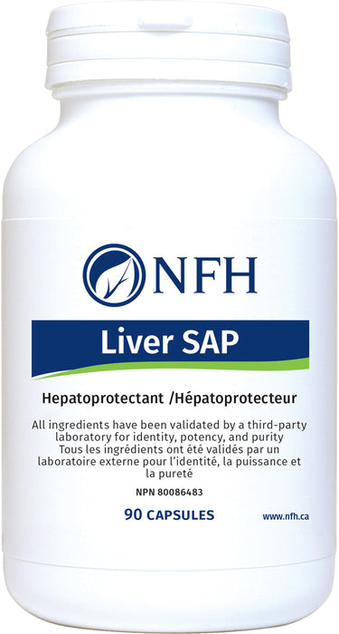 SCIENCE-BASED NUTRACEUTICAL AND BOTANICAL EXTRACTS FOR LIVER DETOXIFICATION  NFH Liver Sap 90 Vegetarian Capsules(Liver Detox)  Description  The liver is the largest glandular organ in the body, with numerous vital functions including glucose, fat, and protein metabolism, regulation of blood sugar levels, storage of vitamins, and digestion.