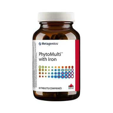 Metagenics PhytoMulti with Iron 60 Tablets