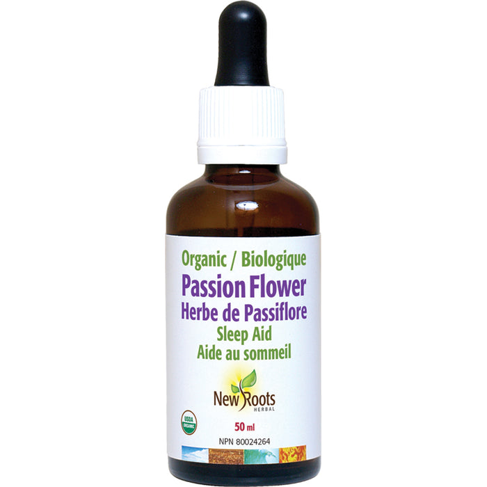 New Roots Passion Flower Herb Organic 50ml