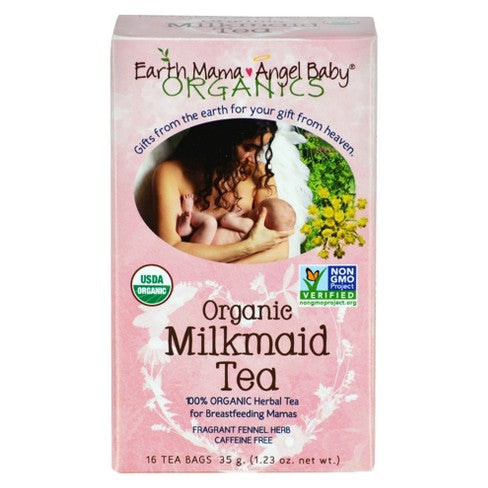Earth Mama Milkmaid Nursing 16 Tea Bags