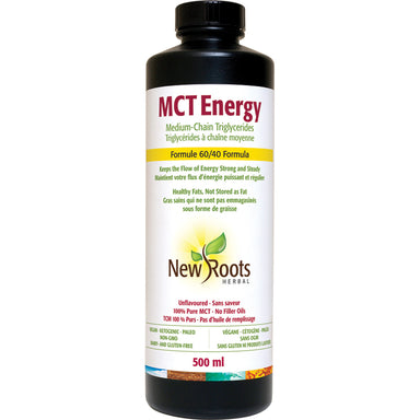 New Roots Herbal MCT Energy Oil 500ml