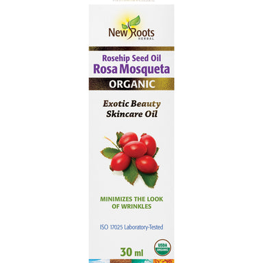 New Roots Rosa Mosqueta Rosehip Seed Oil 30ml