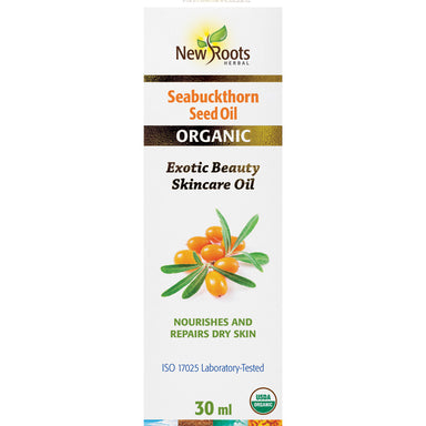 New Roots Organic Seabuckthorn Seed Oil 30ml