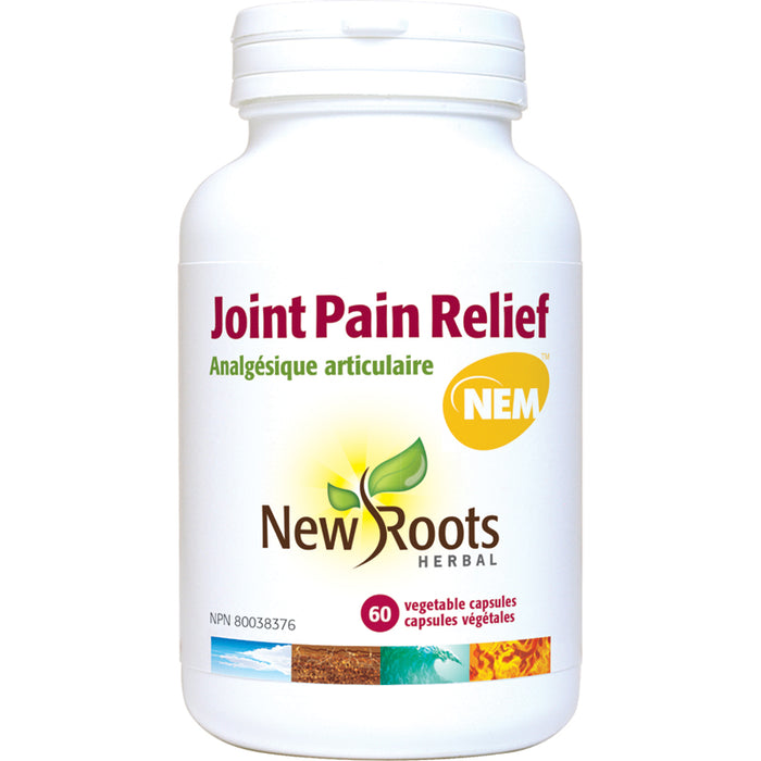 New Roots Joint Pain Relief 60 Vegetarian Capsules