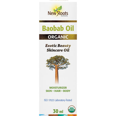 New Roots Organic Baobab Oil 30ml
