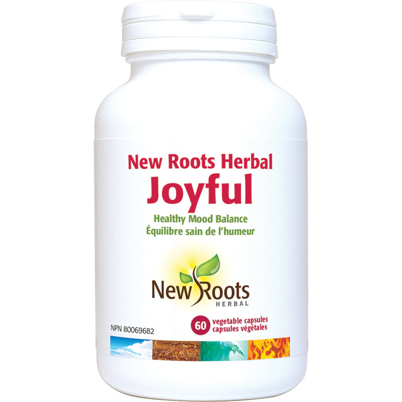 New Roots Joyful 60 Vegetarian Capsules