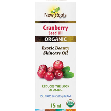 New Roots Organic Cranberry Seed Oil 15ml