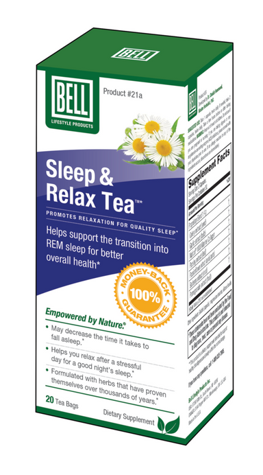 Bell Lifestyle Products #21A Sleep And Relax Tea 20 Bags