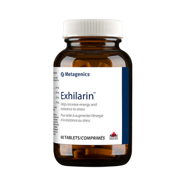 Metagenics Exhilarin 60 Tablets