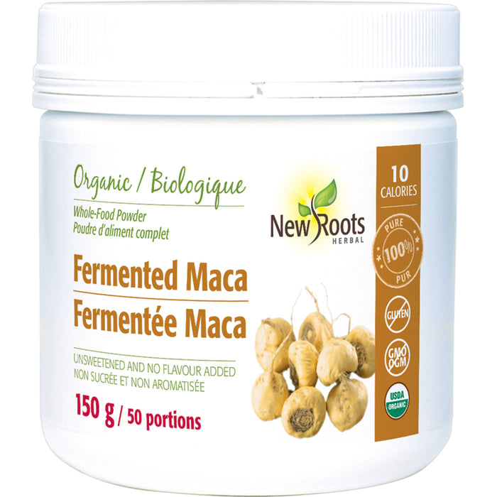 New Roots Organic Fermented Maca Powder 150g