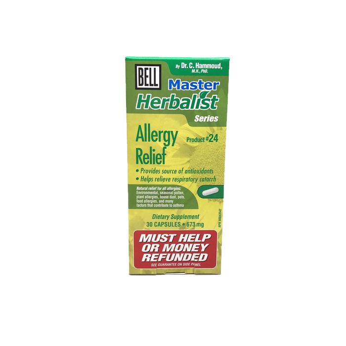 Bell Lifestyle Products #24 Allergy Relief 30 Capsules