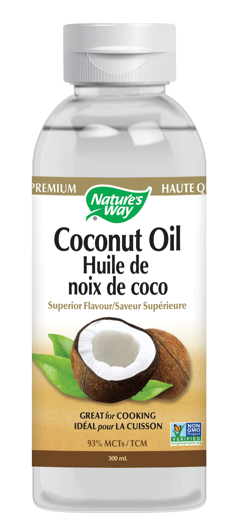 Nature's Way Liquid Coconut Premium Oil 10 oz
