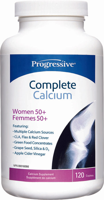 Progressive Complete Calcium For Women +50 120 Tablets
