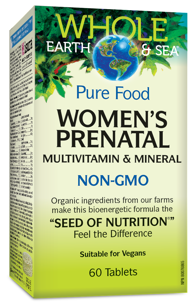Whole Earth & Sea Women's Prenatal Multivitamin & Mineral NON-GMO 60 Tablets