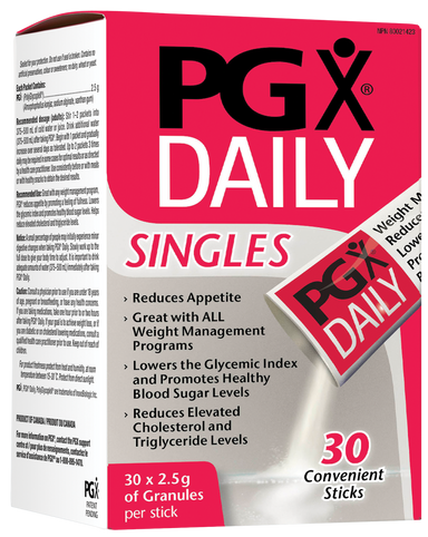 Natural Factors PGX Daily Singles 75g (30 x 2.5 g per pack)
