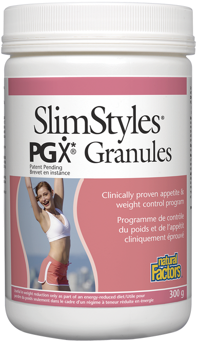 Natural Factors Slimstyles PGX Granules 300g