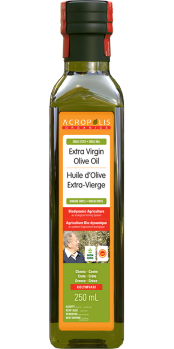 Acropolis Extra Virgin Olive Oil Biodynamic 250ml