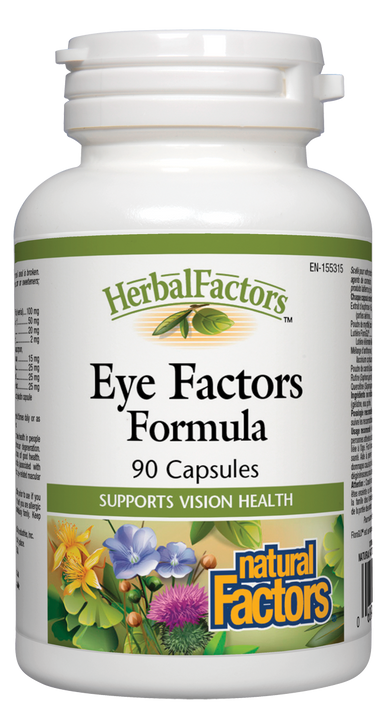 Natural Factors Eye Factors Formula HerbalFactors 90 Capsules