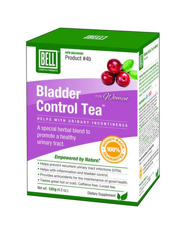 Bell Lifestyle Products #4B Bladder Control Tea Women 120G
