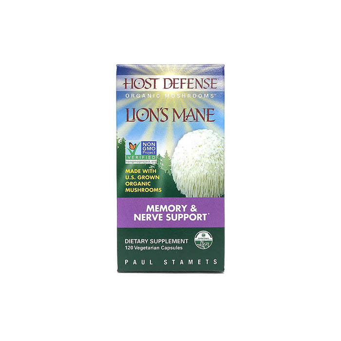 Host Defense Lion's Mane 120 Capsules