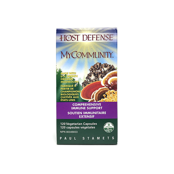 Host Defense Mycommunity 120 Capsules