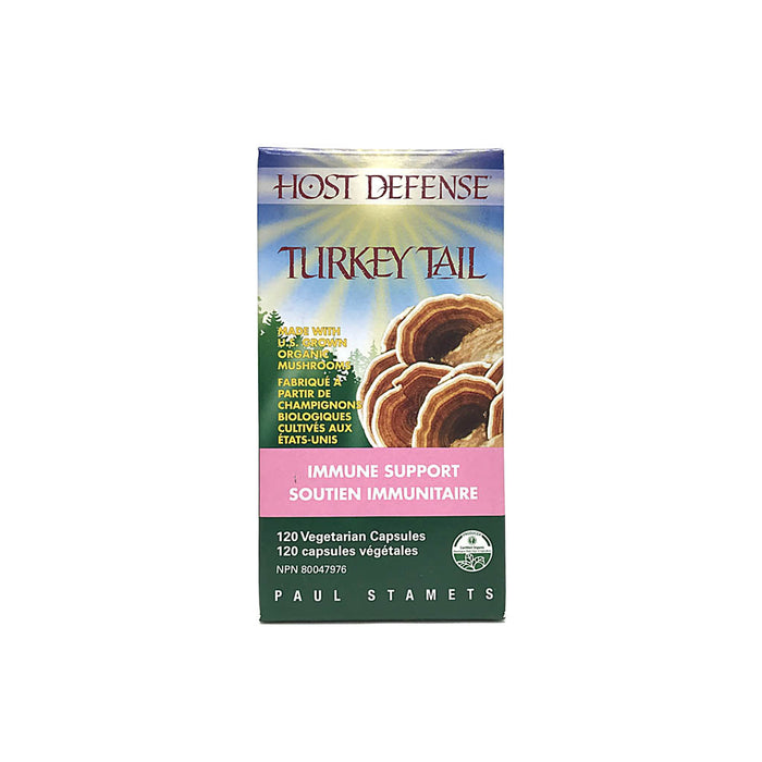 Host Defense Turkey Tail 120 Capsules