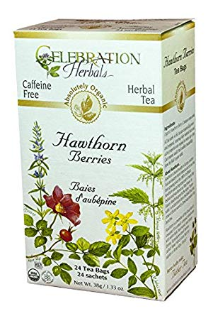 Celebration Herbals Hawthorn Berries Organic 24 Tea Bags