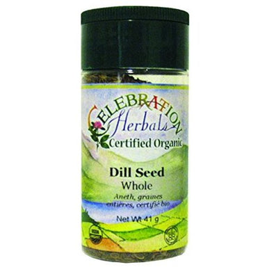Celebration Herbals Dill Seed Whole Organic 3.5 oz