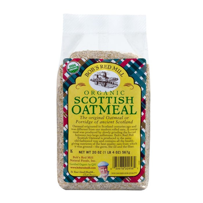 Bob's Red Mill Organic Scottish Oatmeal 566g