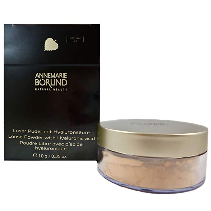Annemarie Borlind Loose Powder With Hyaluronic Acid Natural 10g