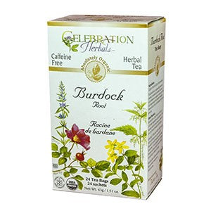 Celebration Herbals Burdock Root Organic 24 Tea Bags