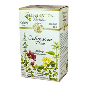 Celebration Herbals Echinacea Blend Organic 24 Tea Bags