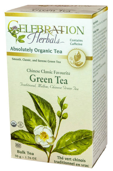 Celebration Herbals Green Tea Chinese Organic 50g Bulk Tea