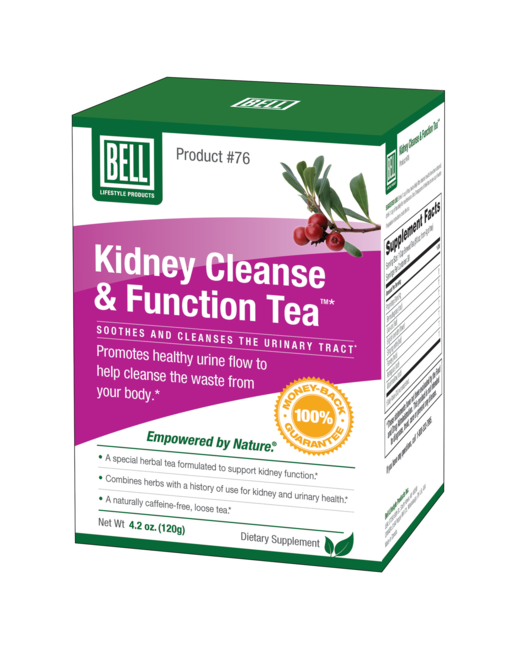 Bell Lifestyle Products #76 Kidney Cleanse & Function Tea 120g