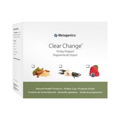 Metagenics Clear Change 10- Day Program Vanilla, 1 Kit