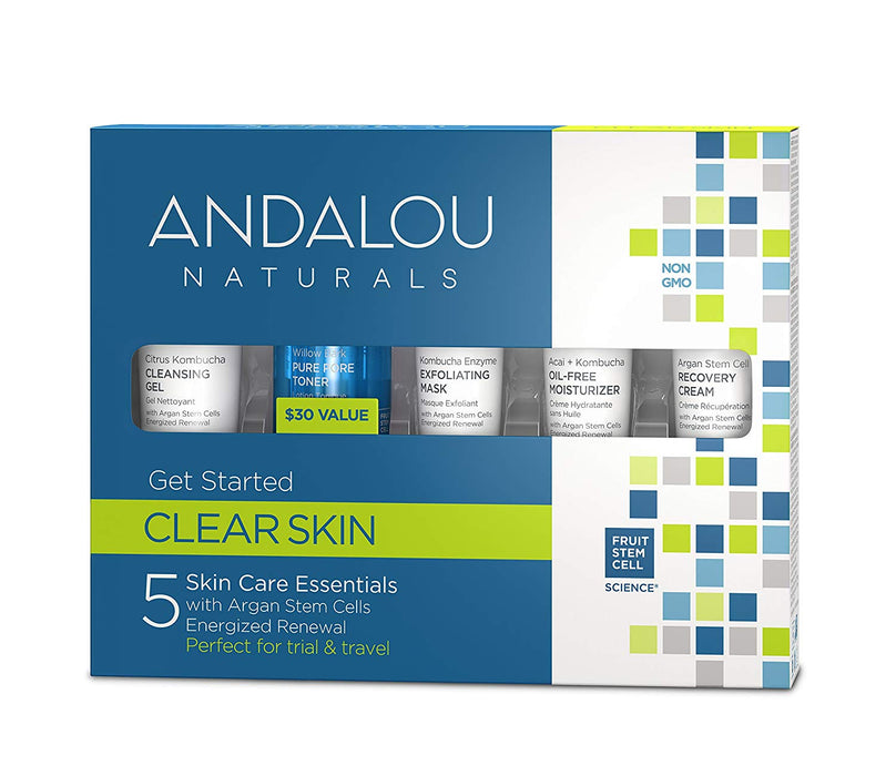 Andalou Clarifying Get Started Kit 5 Pieces