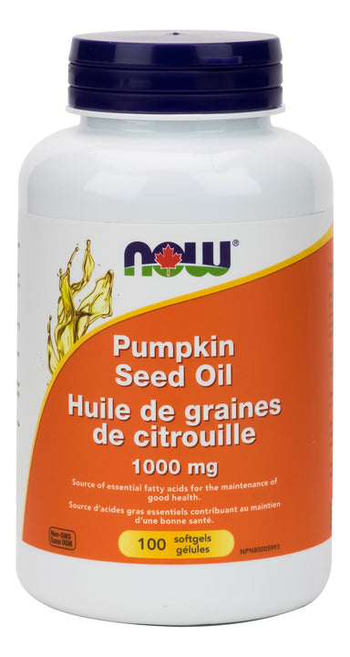 NOW Pumpkin Seed Oil 1000mg 100 Softgels
