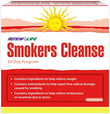 Renew Life Smokers Cleanse 30 Day Program