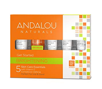 Andalou Brightening Get Started Kit 5 Pieces