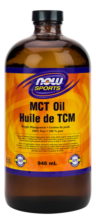 NOW MCT Oil 100% Pure 946ml