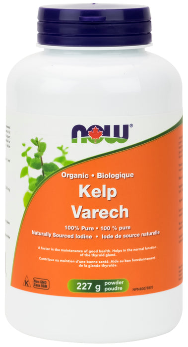 NOW Kelp Powder 100% Pure 227g