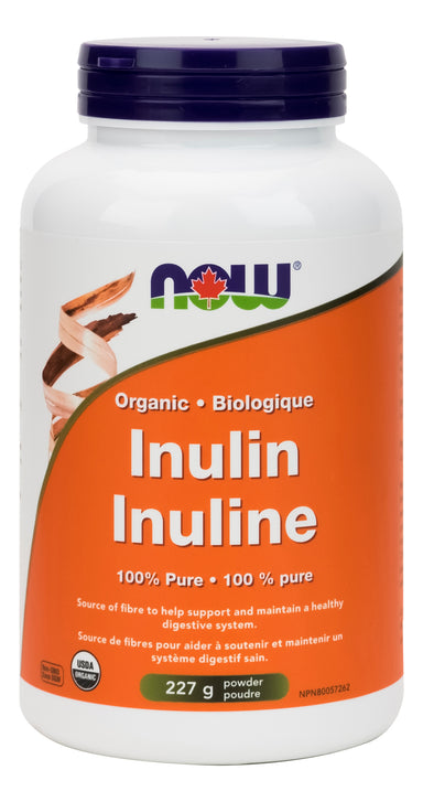 NOW Inulin 100% Pure Powder 227g