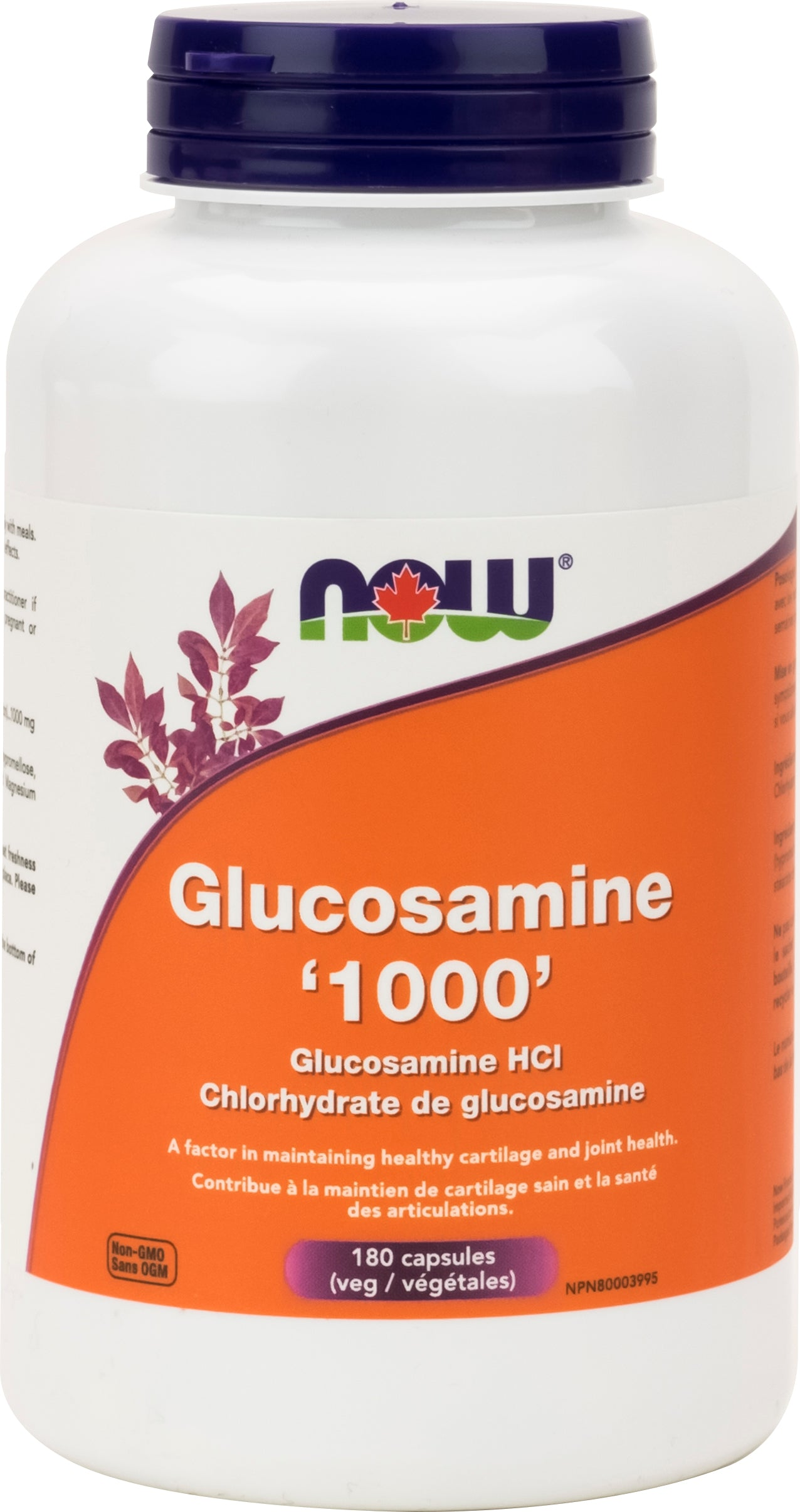 NOW Glucosamine 1000mg 180 Capsules