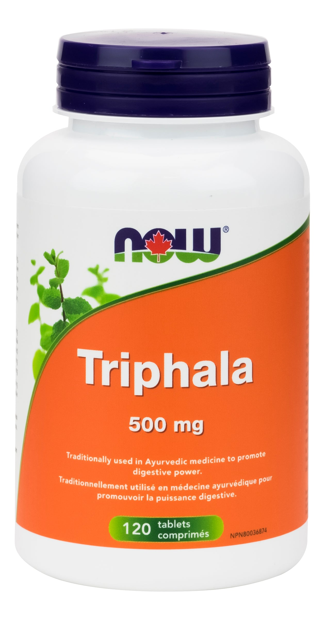 NOW Triphala 500mg 120 Tablets