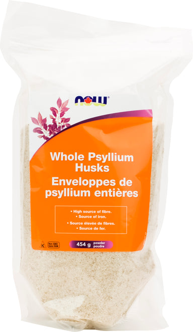 NOW Psyllium Husks Whole 454g