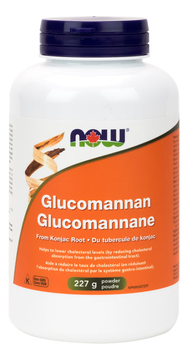 NOW Glucomannan Powder 227g