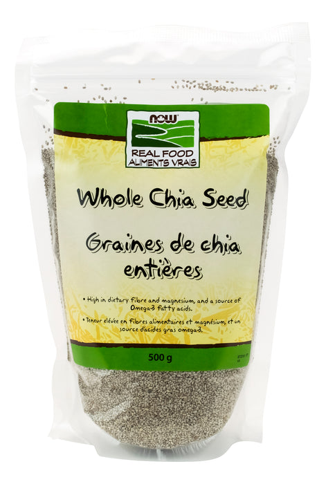 NOW Whole White Chia Seed 500g